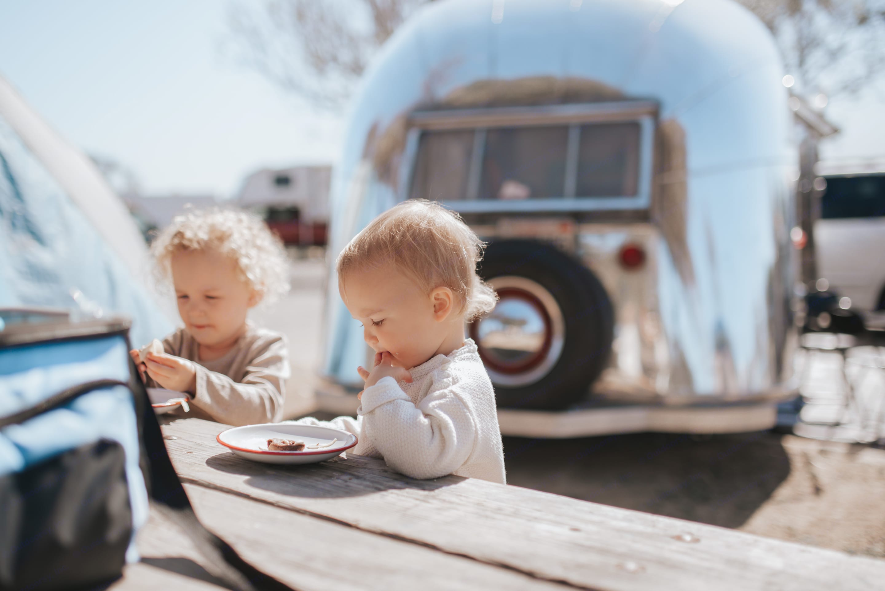 Airstream Flying Cloud 1957