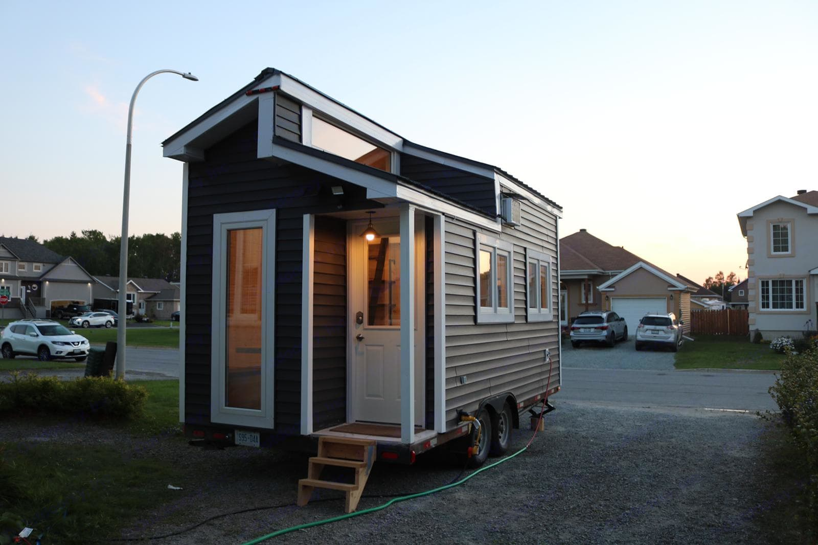 Setup at my house front yard to host a guest. Other Tiny House on Wheels 2018