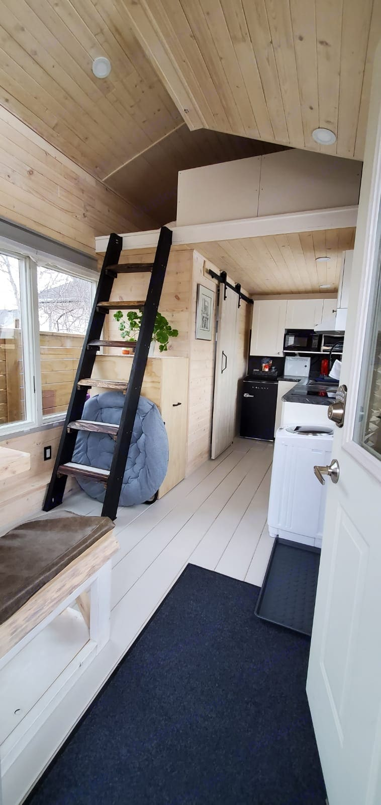 Enough space to cook , wash and organize personal items   . Other Tiny House on Wheels 2018