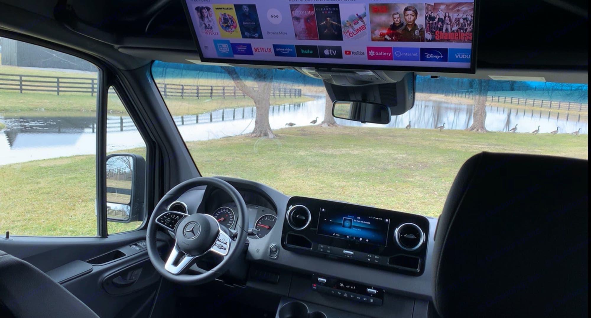Luxury Driving. Mercedes-Benz Sprinter 2020