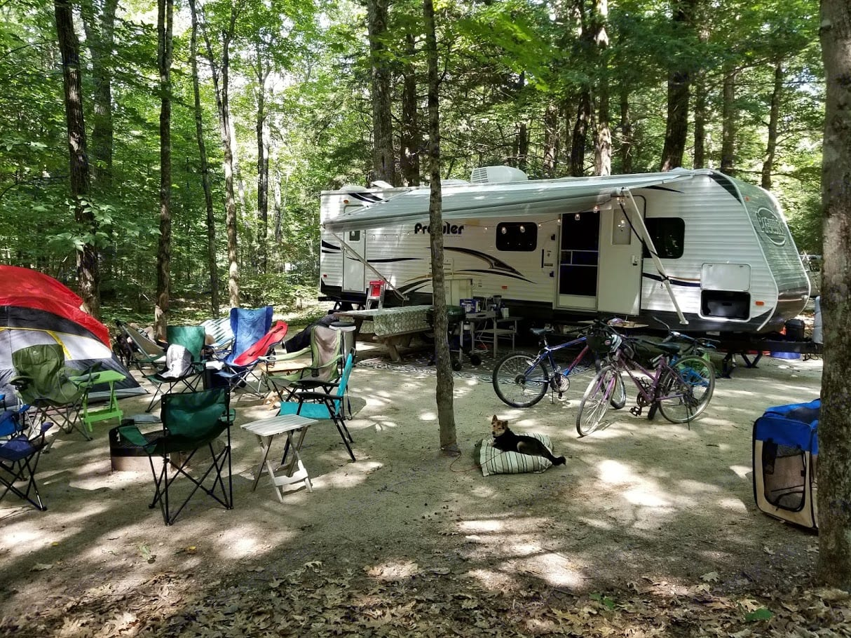 This is glamping. Heartland Prowler 2014