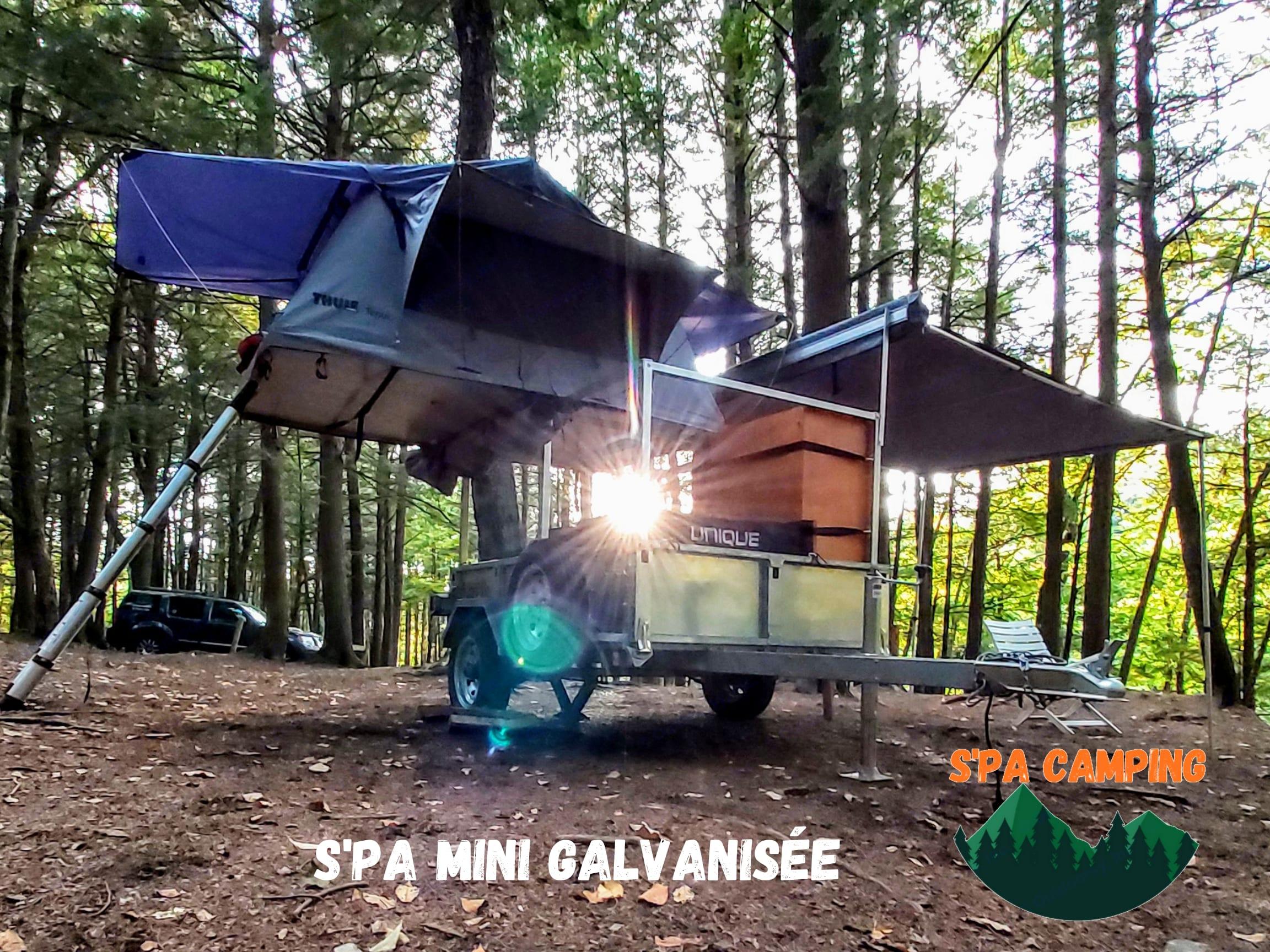 S'PA camping mini galvanisée 2021