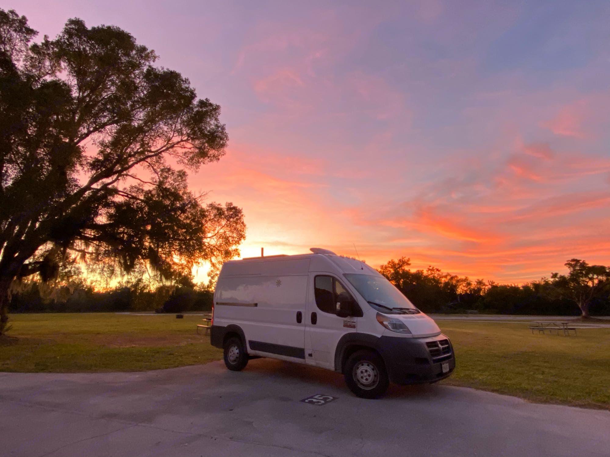 Everglades National Park, FL. RAM Promaster 1500 136WB 2016