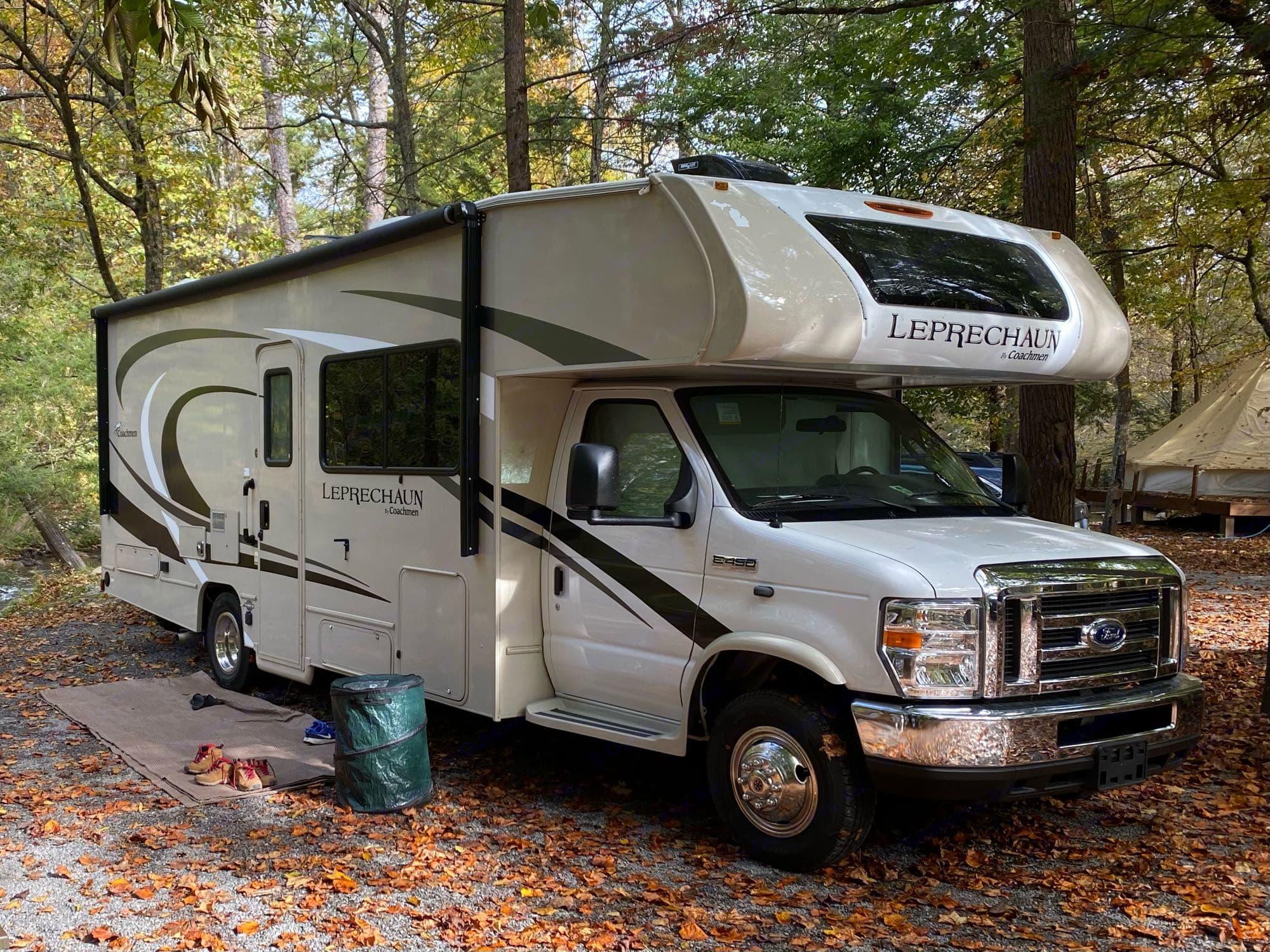 Fall in the Great Smoky Mountains.. Coachmen Leprechaun 2021