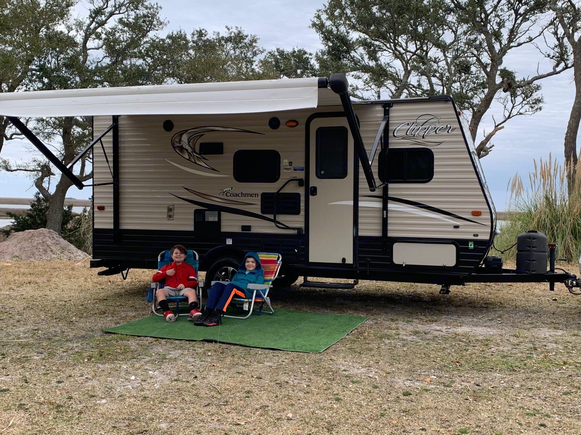 Bring the kids along!. Coachmen Clipper 2018