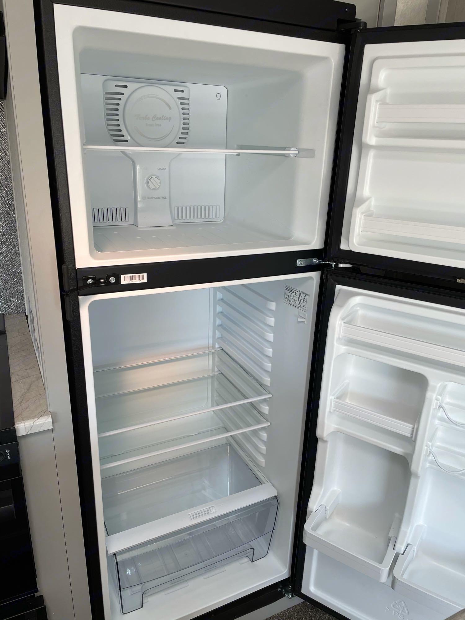 12V Refrigerator. Forest River Vibe 2021