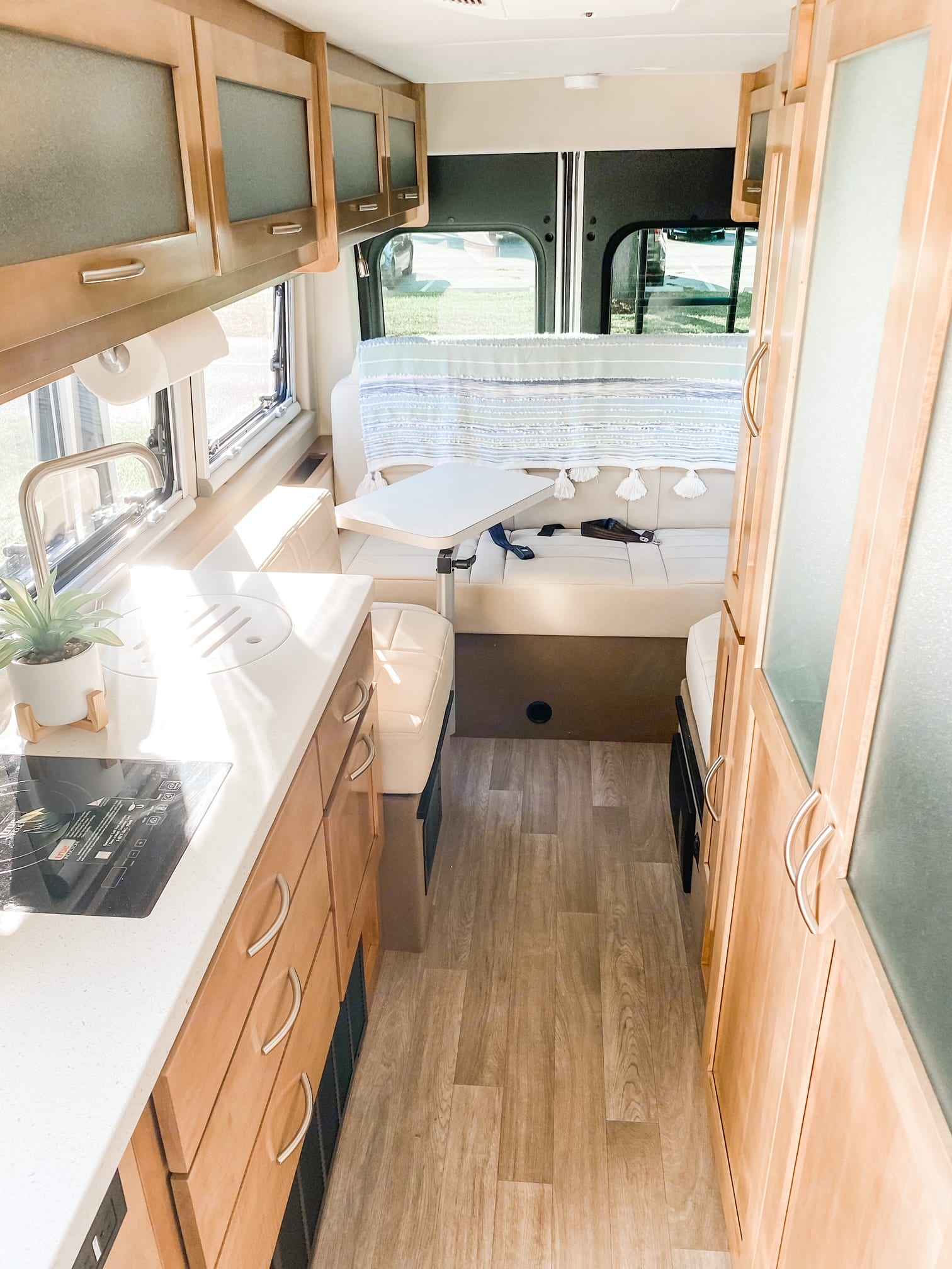 This is a picture of the gallery area. When you are standing in front of the rig. . Coachmen Nova 20C 2021