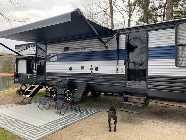Puppies not included!. Forest River Cherokee 2021