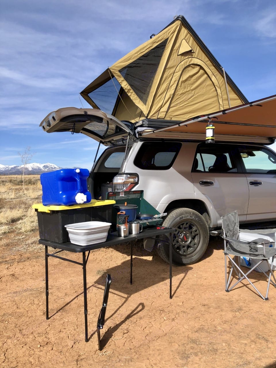 Full Setup - Everything here is included in your rental!. Custom Camper 2021