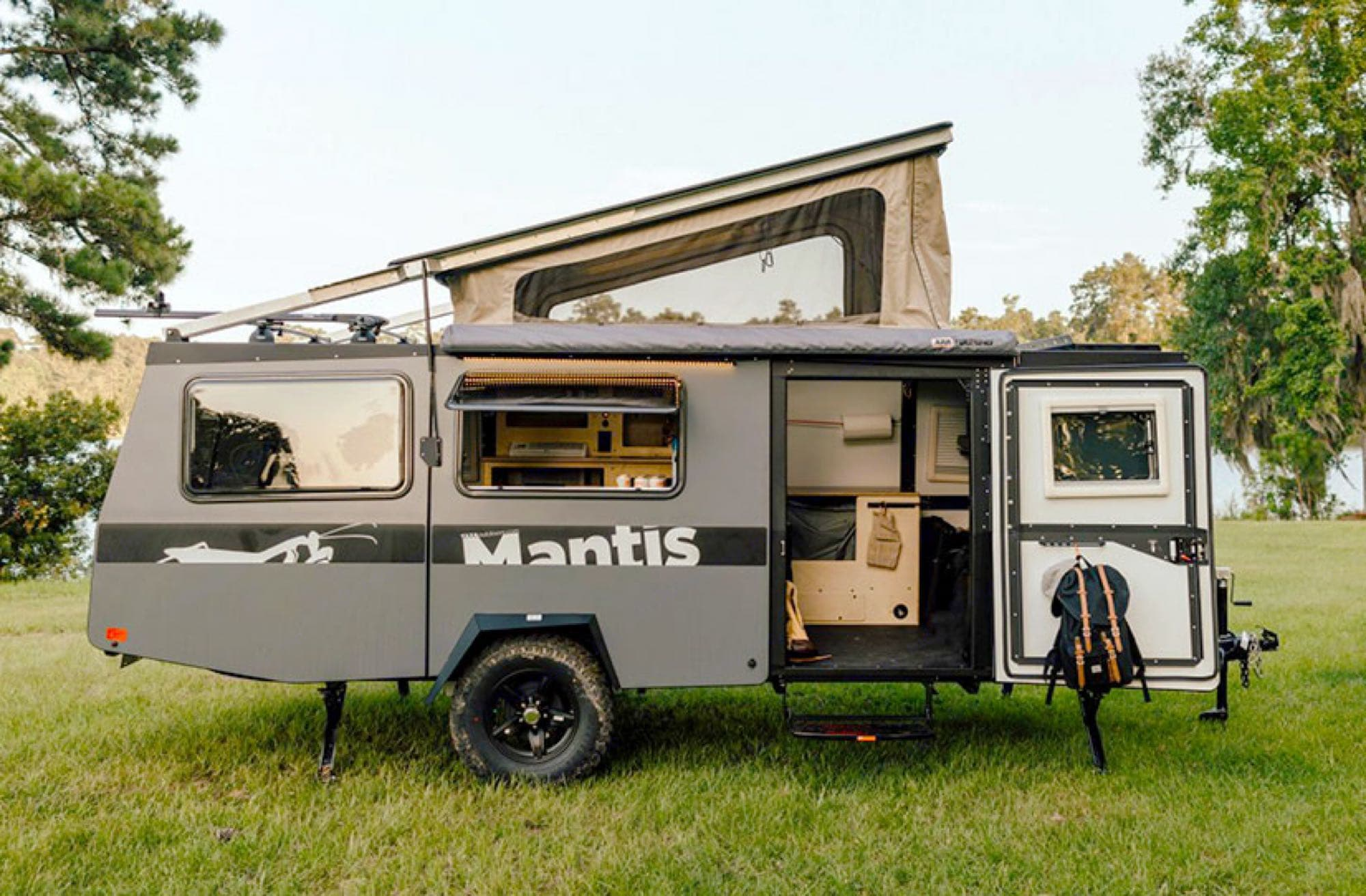 overview - stock photo. TAXA Outdoors Mantis Camper 2019