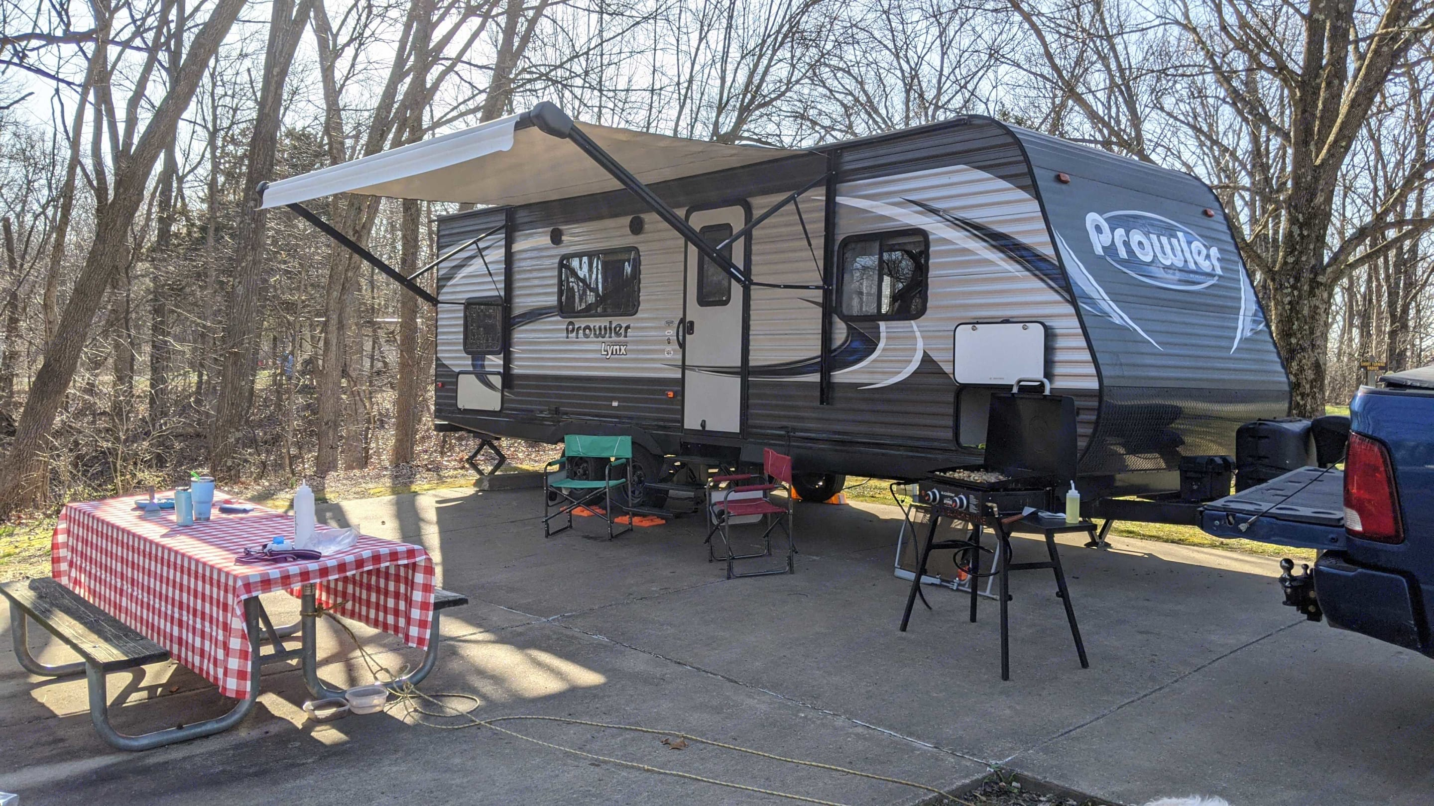 Ready for your relaxing weekend adventure.. Heartland Prowler Lynx 2018