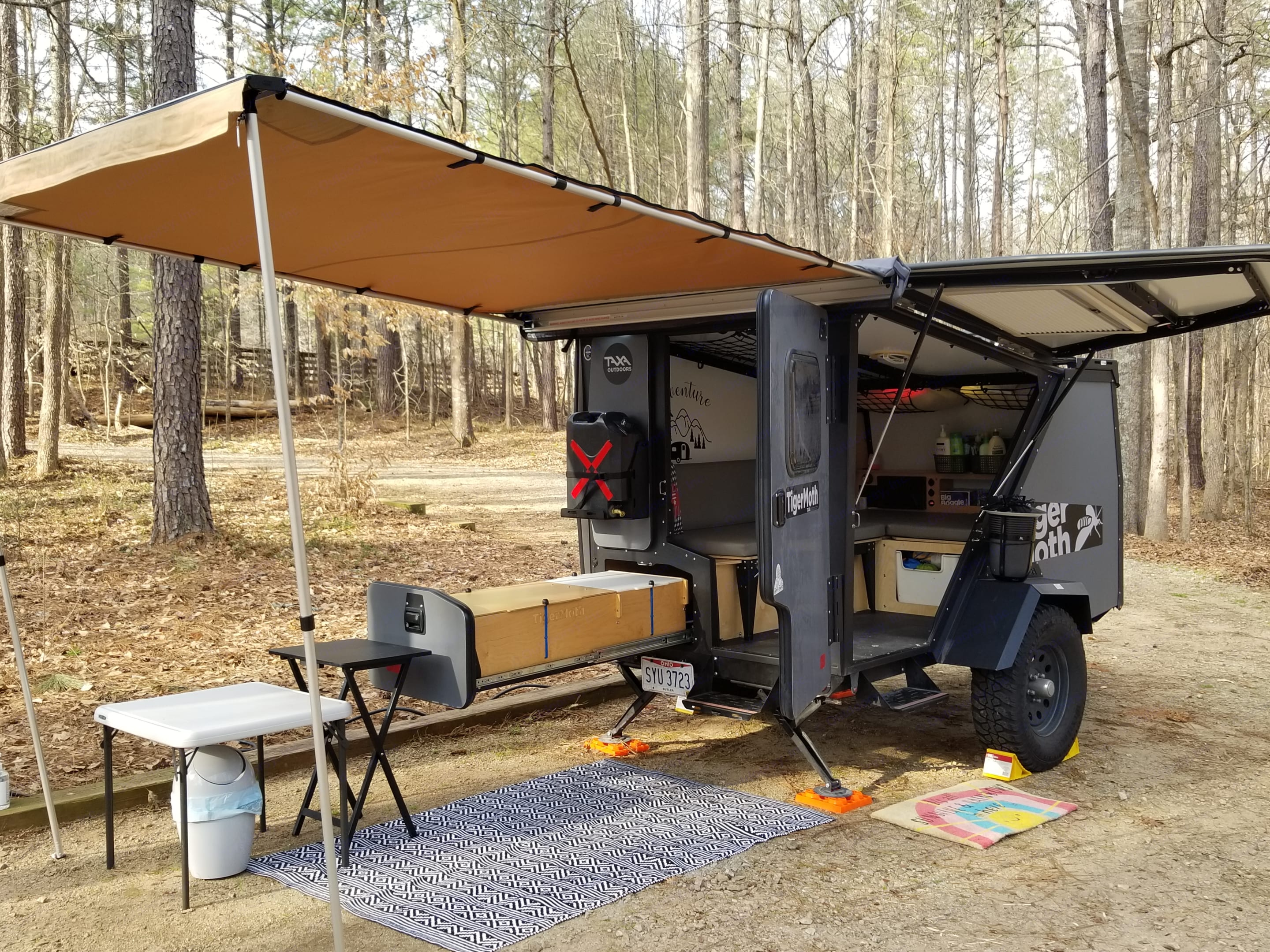 You don't have to BE big to GO big!. TAXA Outdoors Tigermoth Camper 2019