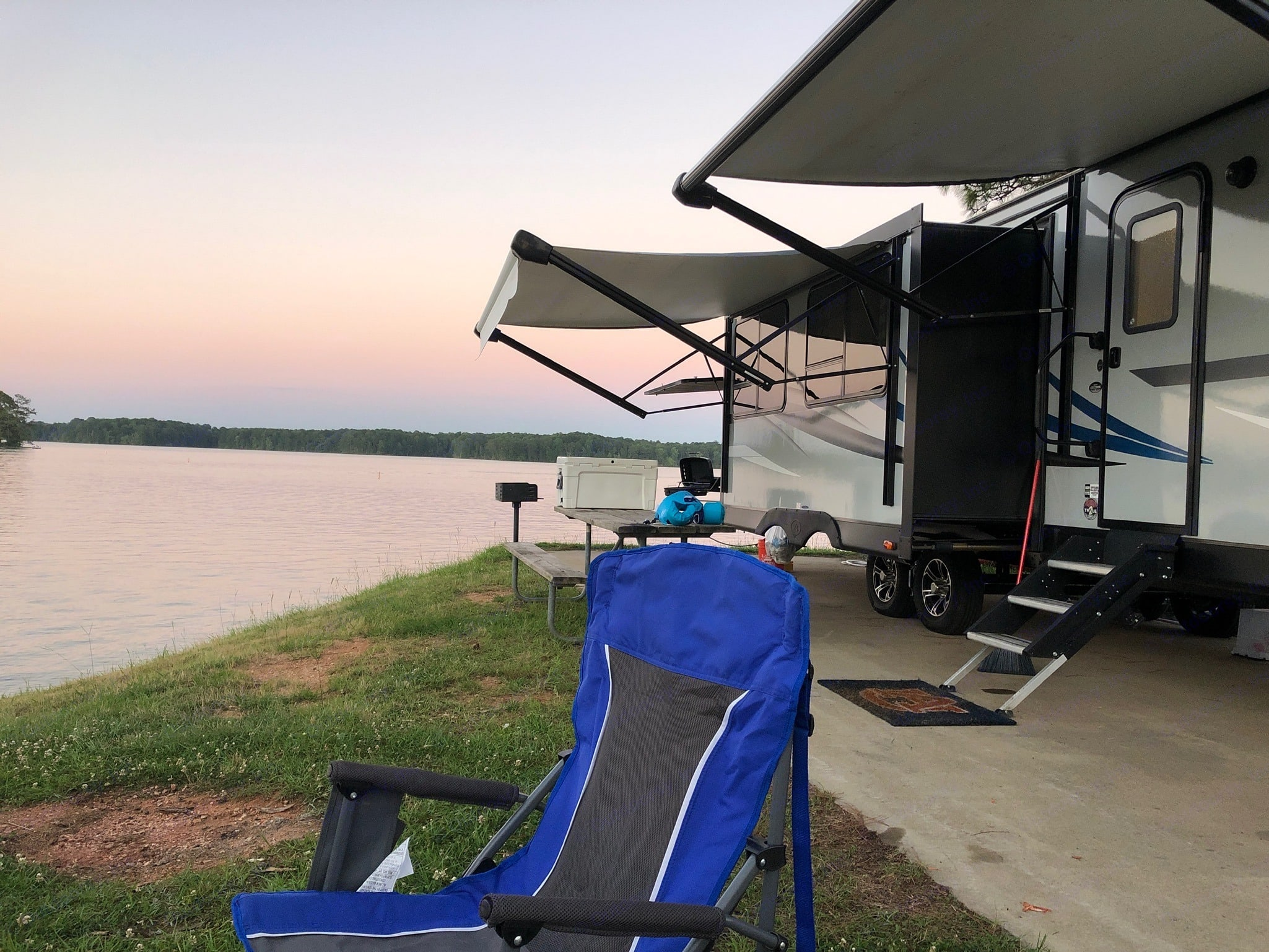 Wind Creek State Park. K-Z Manufacturing Connect C322BHK 2019