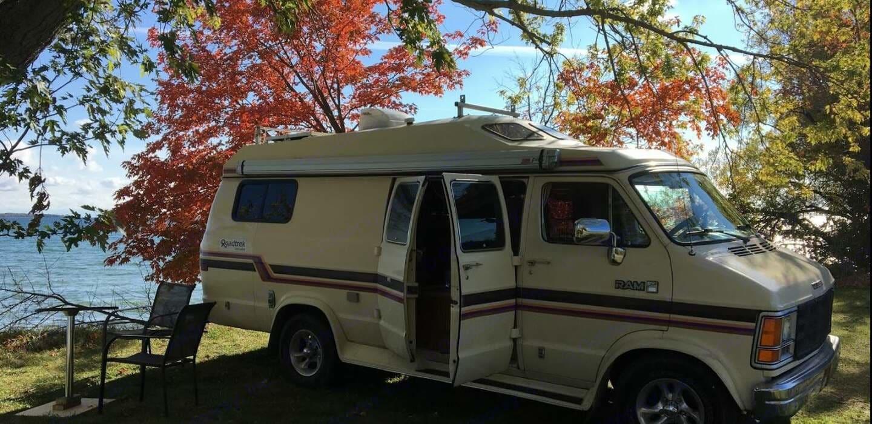 Roadtrek c'est le confort et la qualité, bien pensé. Roadtrek 190 Versatile 1986