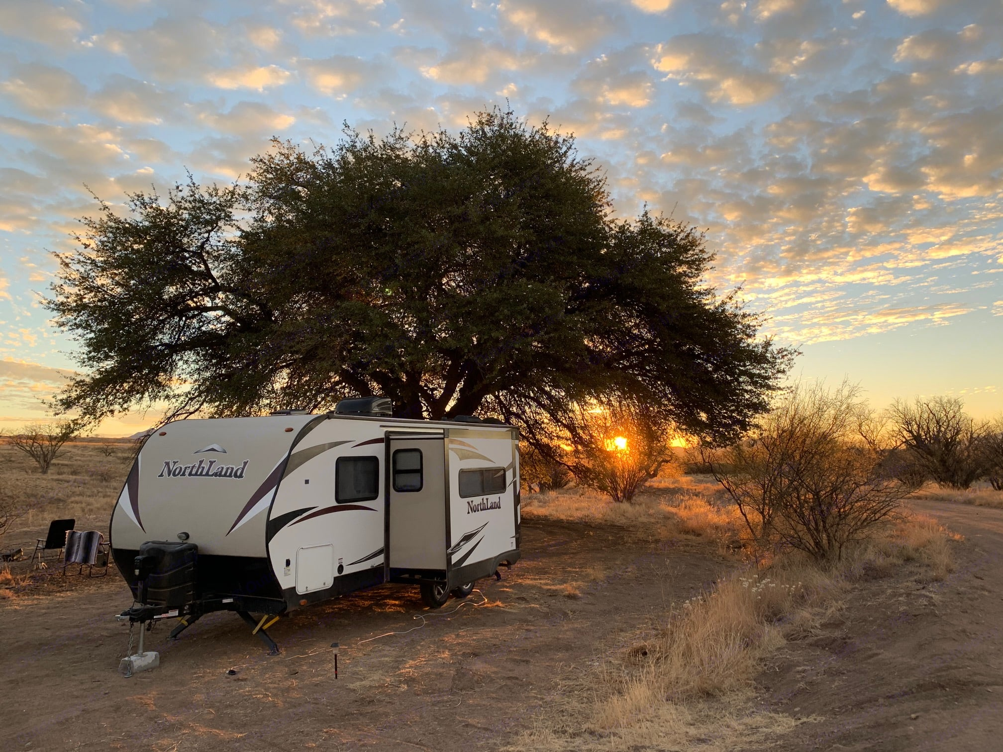 Boondocking in Empire Ranch. Pacific Coachworks Other 2016