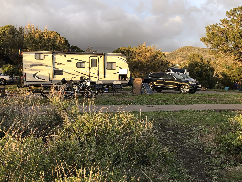 Heres a shot of us camping at El Capitan site 107!. Keystone Hideout 2017