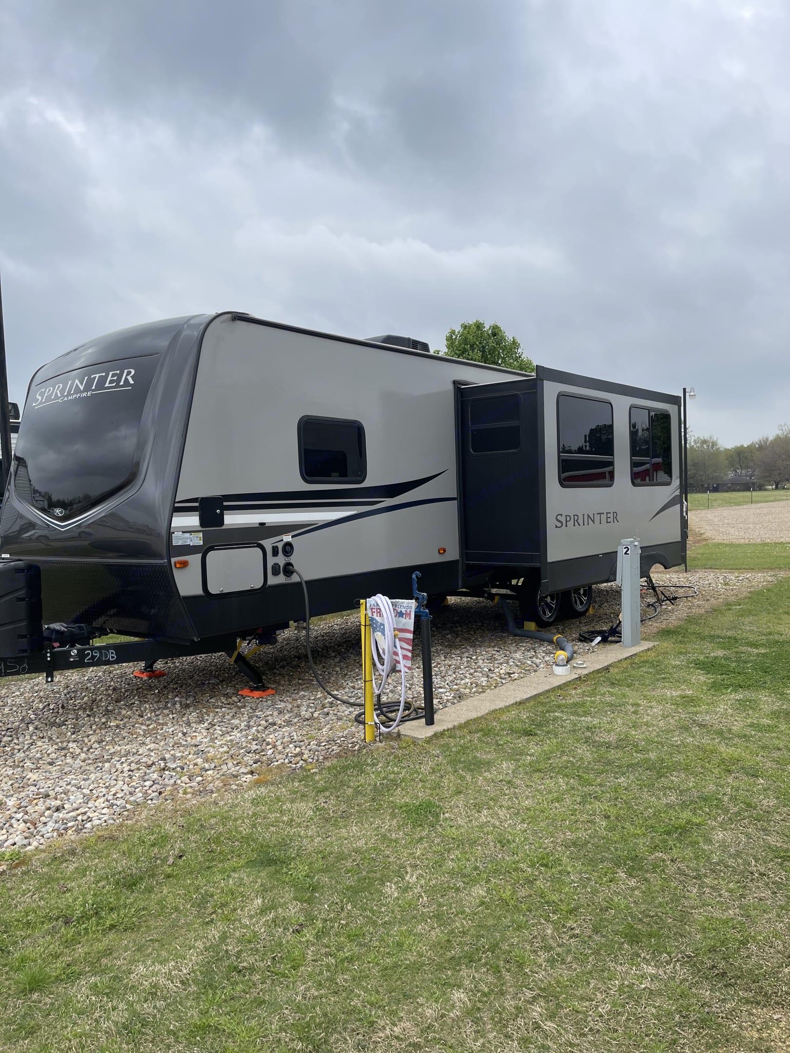 Keystone Sprinter Campfire 2020