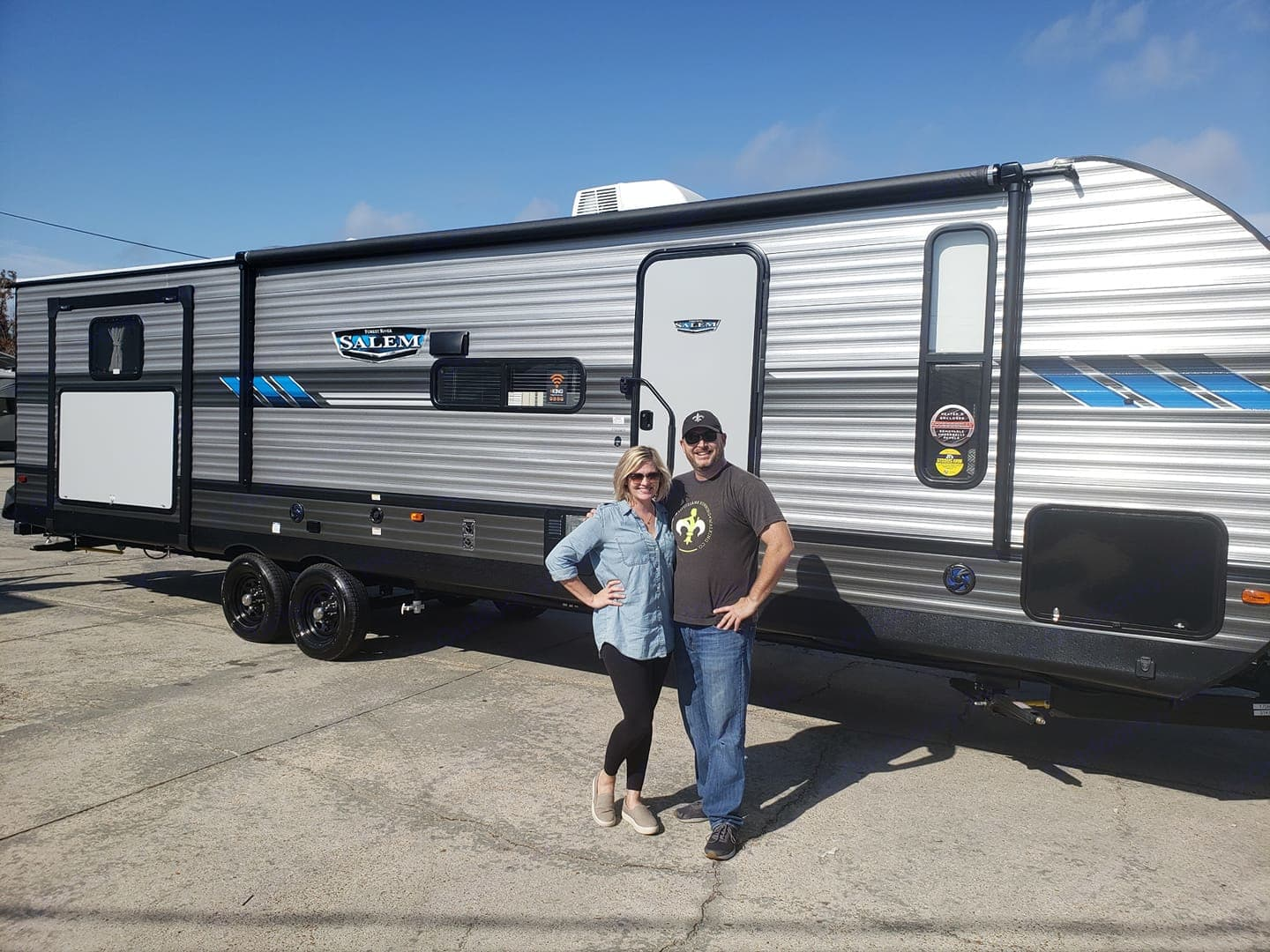 Our Rv for you to enjoy. Forest River Salem 2020