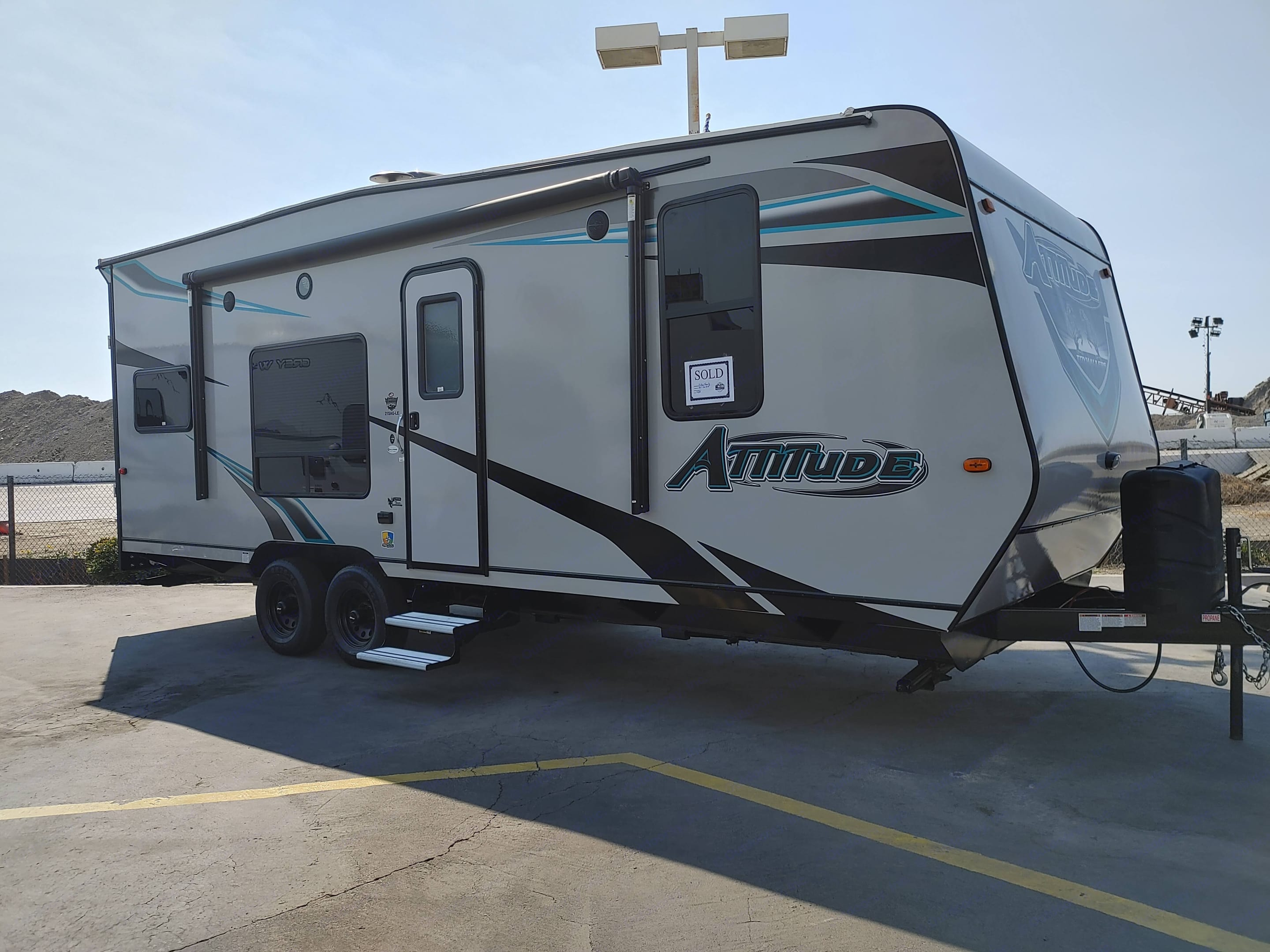 The day we brought her home.. Eclipse Recreational Vehicles Attitude 2021