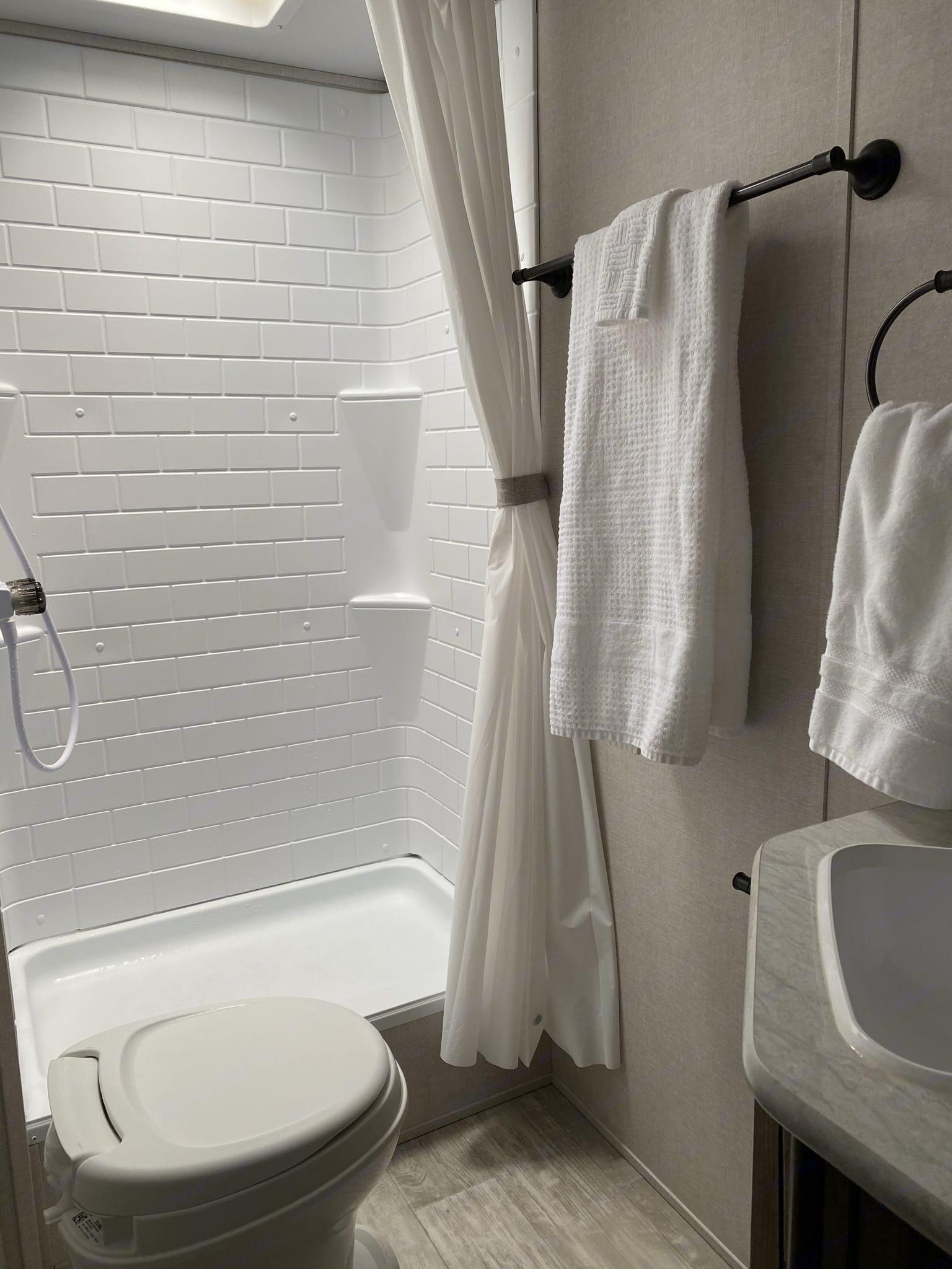 Bathroom. Prime Time Avenger 2021