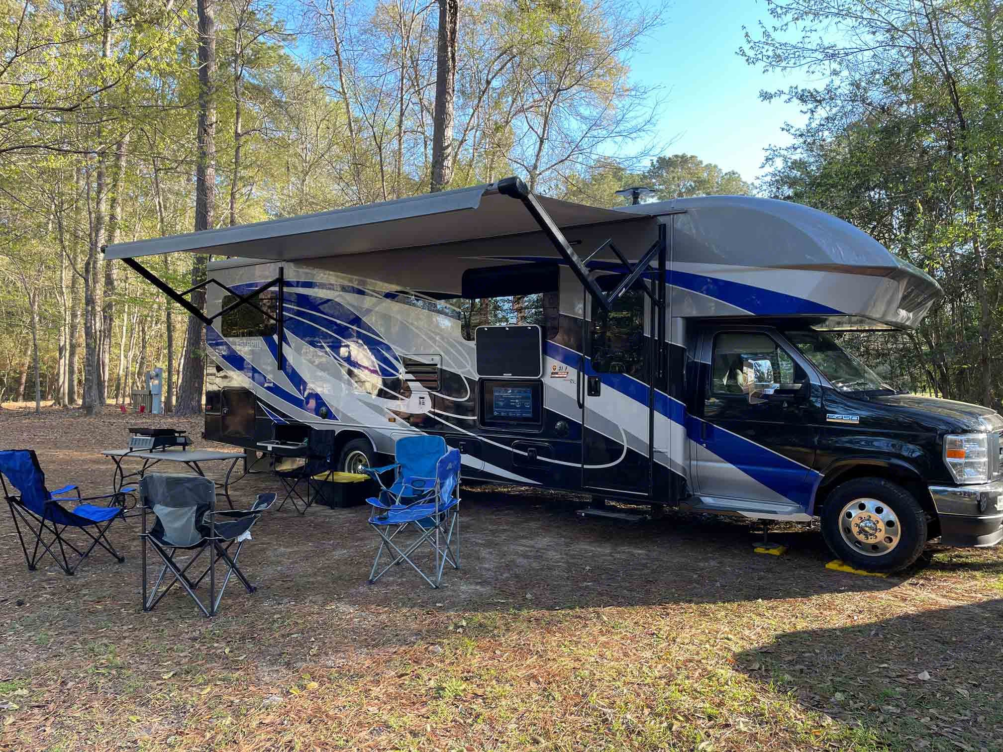 Be the talk of the campground in this colorful RV.  Renters have talked about how people are constantly asking about it at the campground.. Entegra Coach Other 2021
