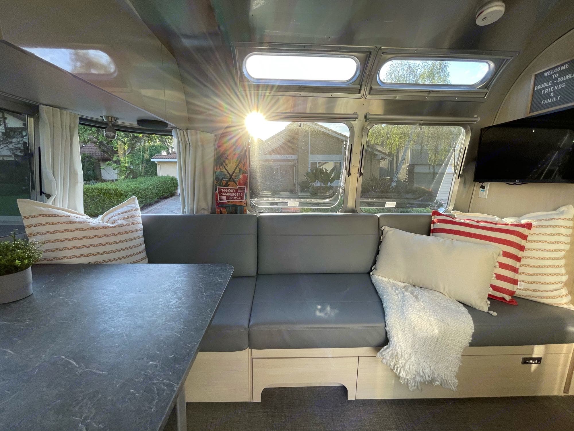 Watch T.V. Listen to music Read a book Catch up with loved ones. Airstream Flying Cloud 2021