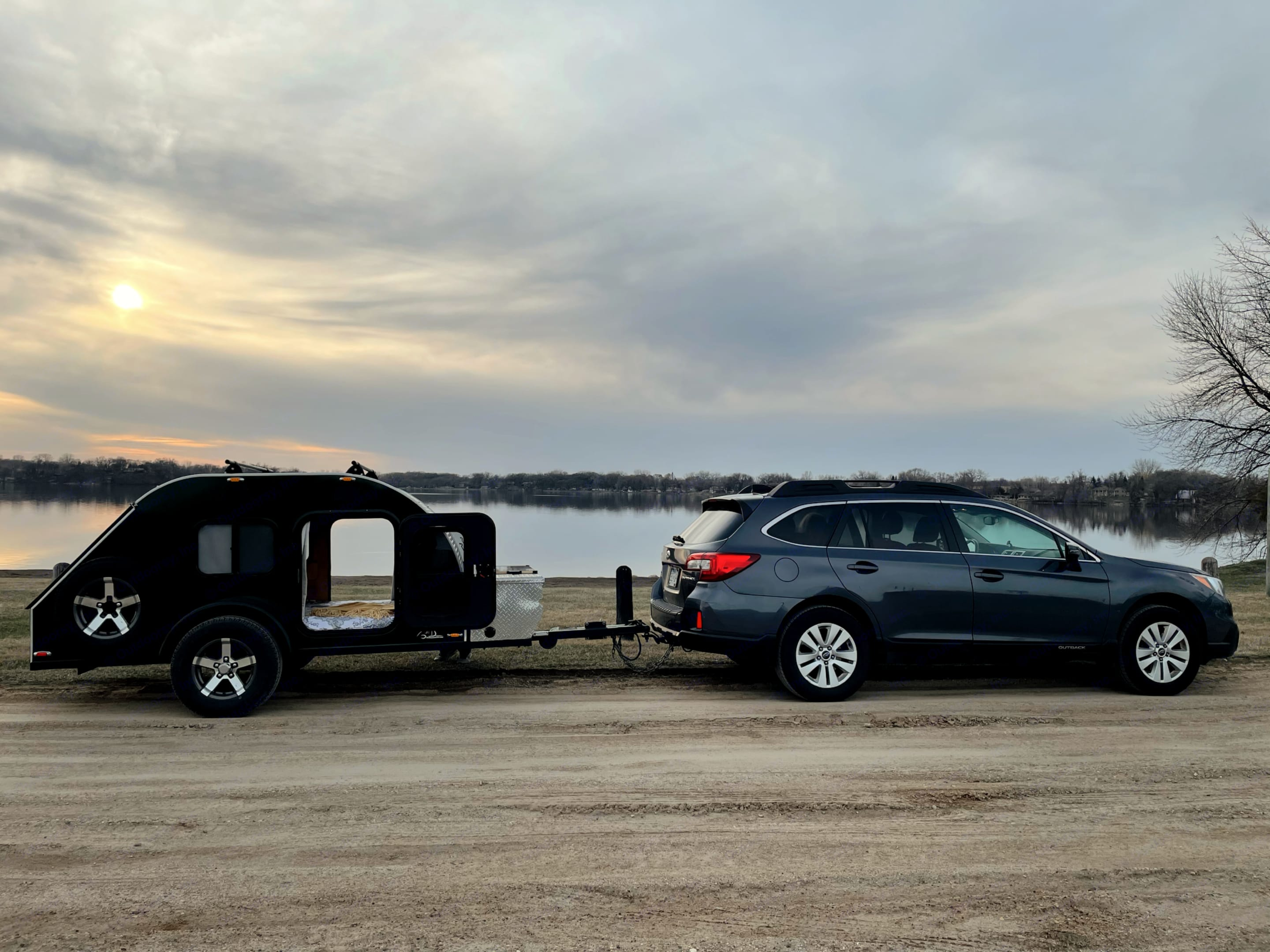 Pulls easily with a small SUV. American Teardrop Travel Trailer 2016