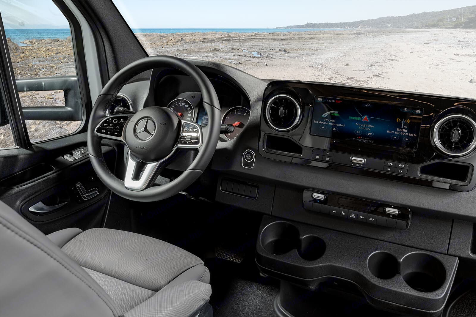 Mercedes Sprinter Chassis Cab. Unity U24RL 2021
