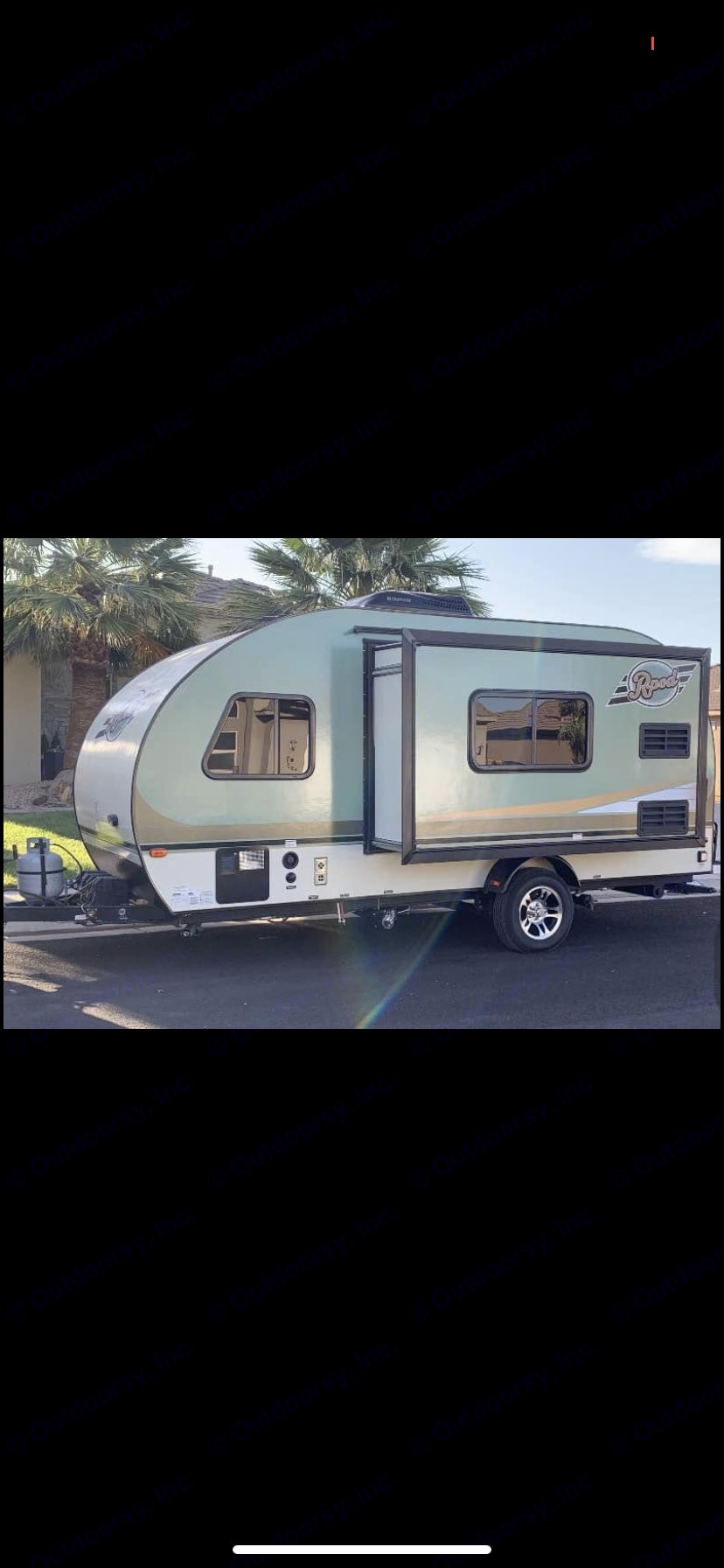Equipped with a roomy slide out. Forest River R-Pod 2015