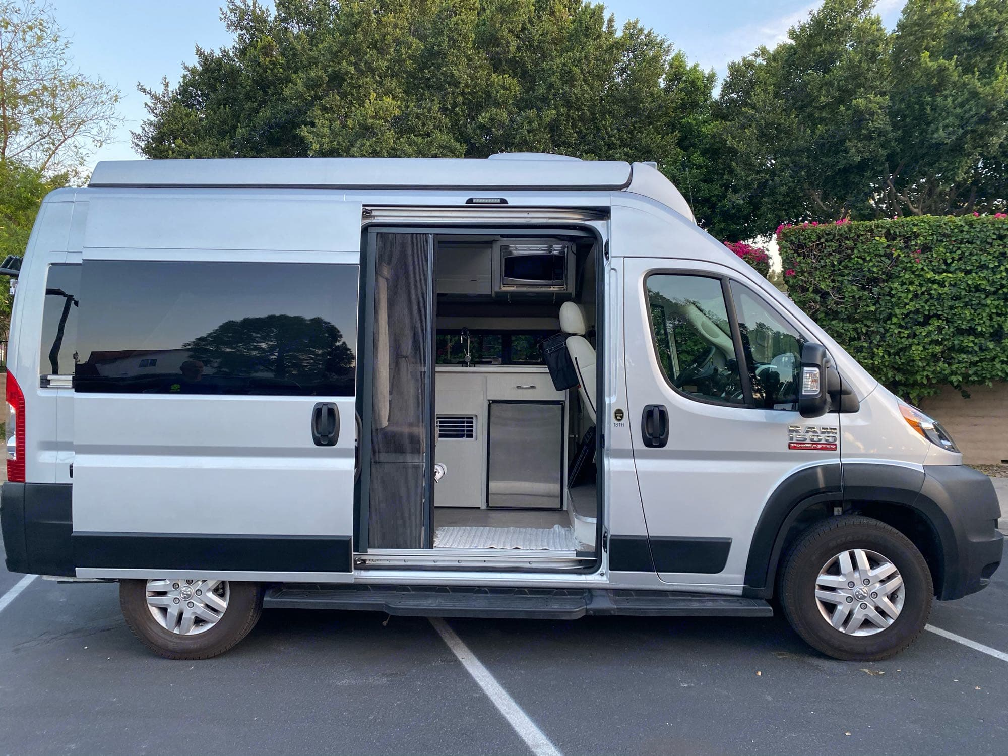 Dodge pro master chassis THOR RIZE 2021