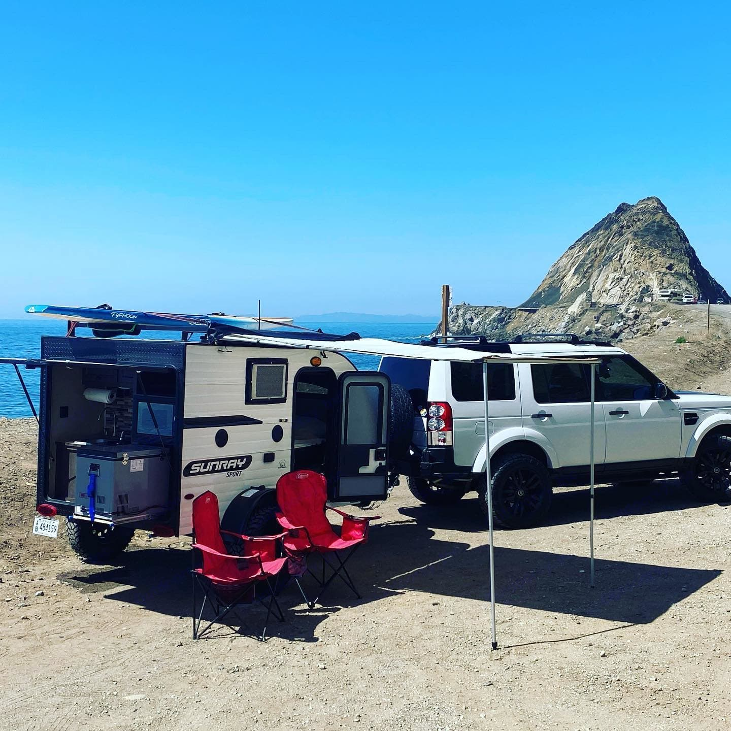 Exterior on a trip to Point Mugu. SUNRAY 109 Sport 2020