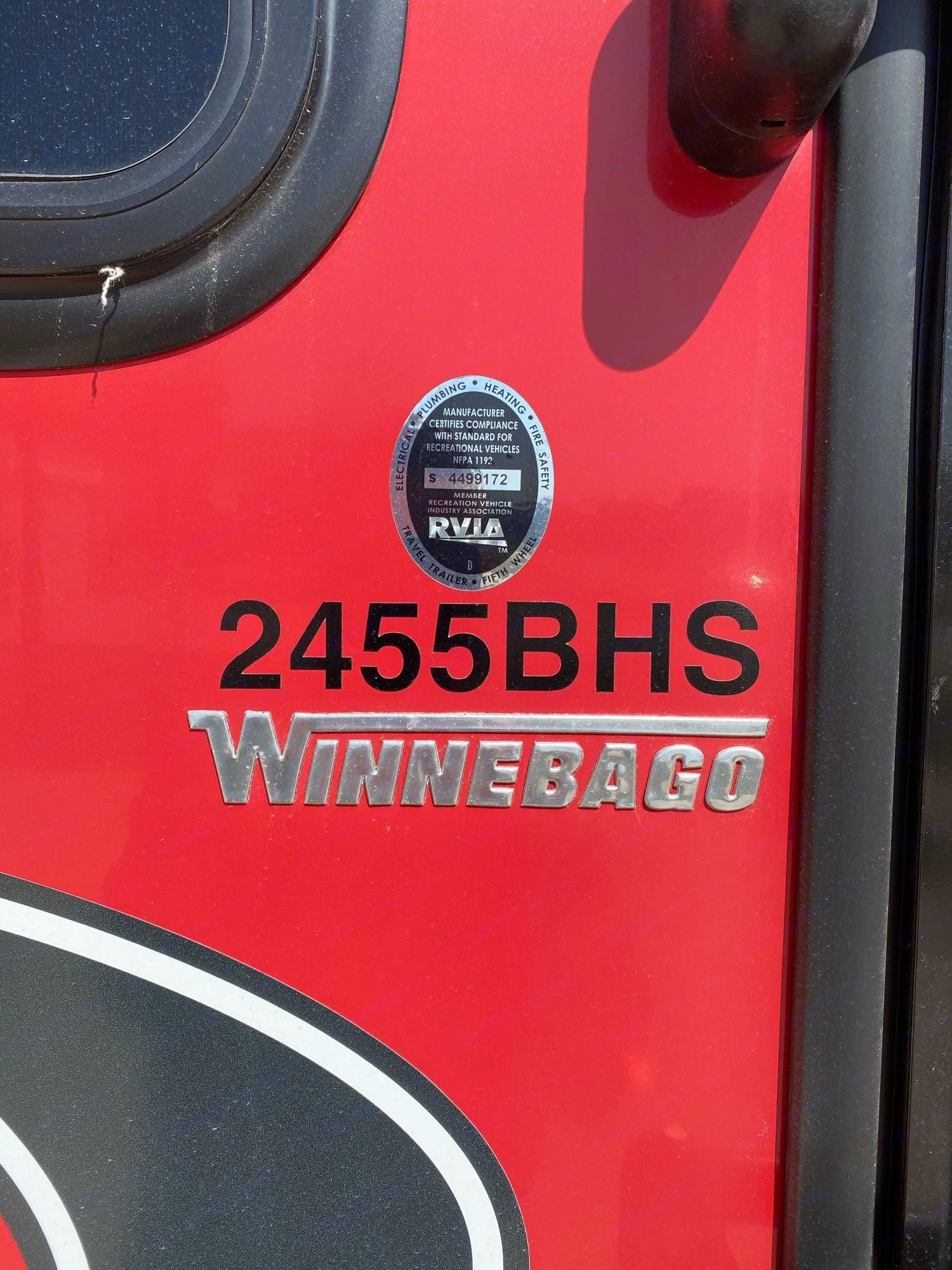 Winnebago Minnie Winnie 2018
