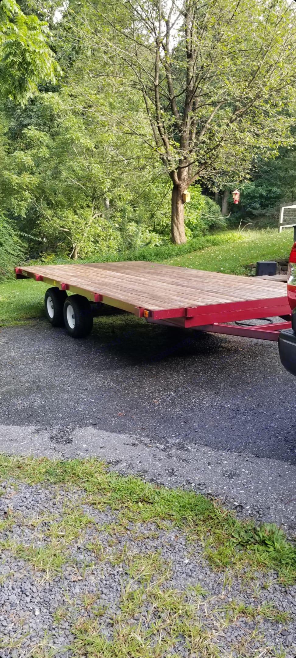 Burkholder 14ft utility trailer 2016