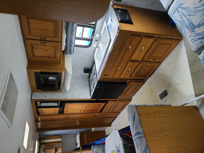 Kitchen area . Jayco 26BH Eagle