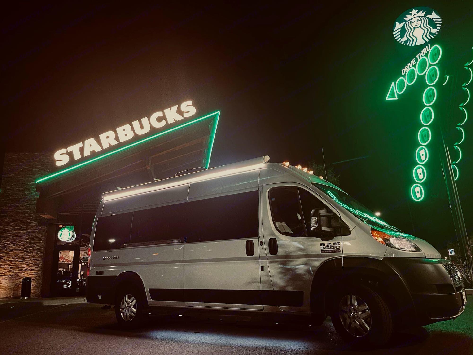 Vegas Starbucks. Thor Motor Coach 2021 Sequence L 2021