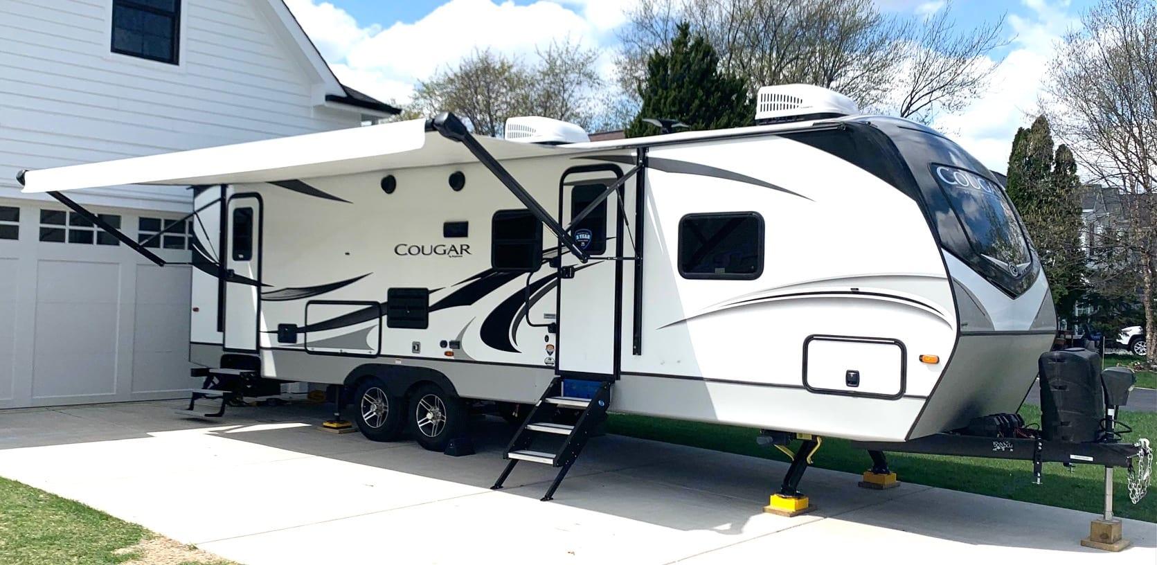 Two A/C units. Keystone Cougar 2020