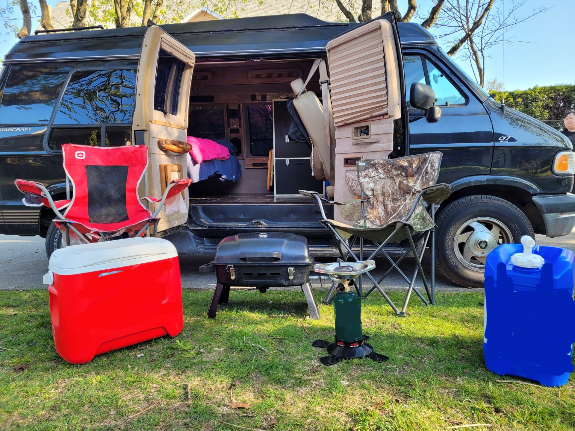 Camping Gear included with trip. Dodge Other 1996