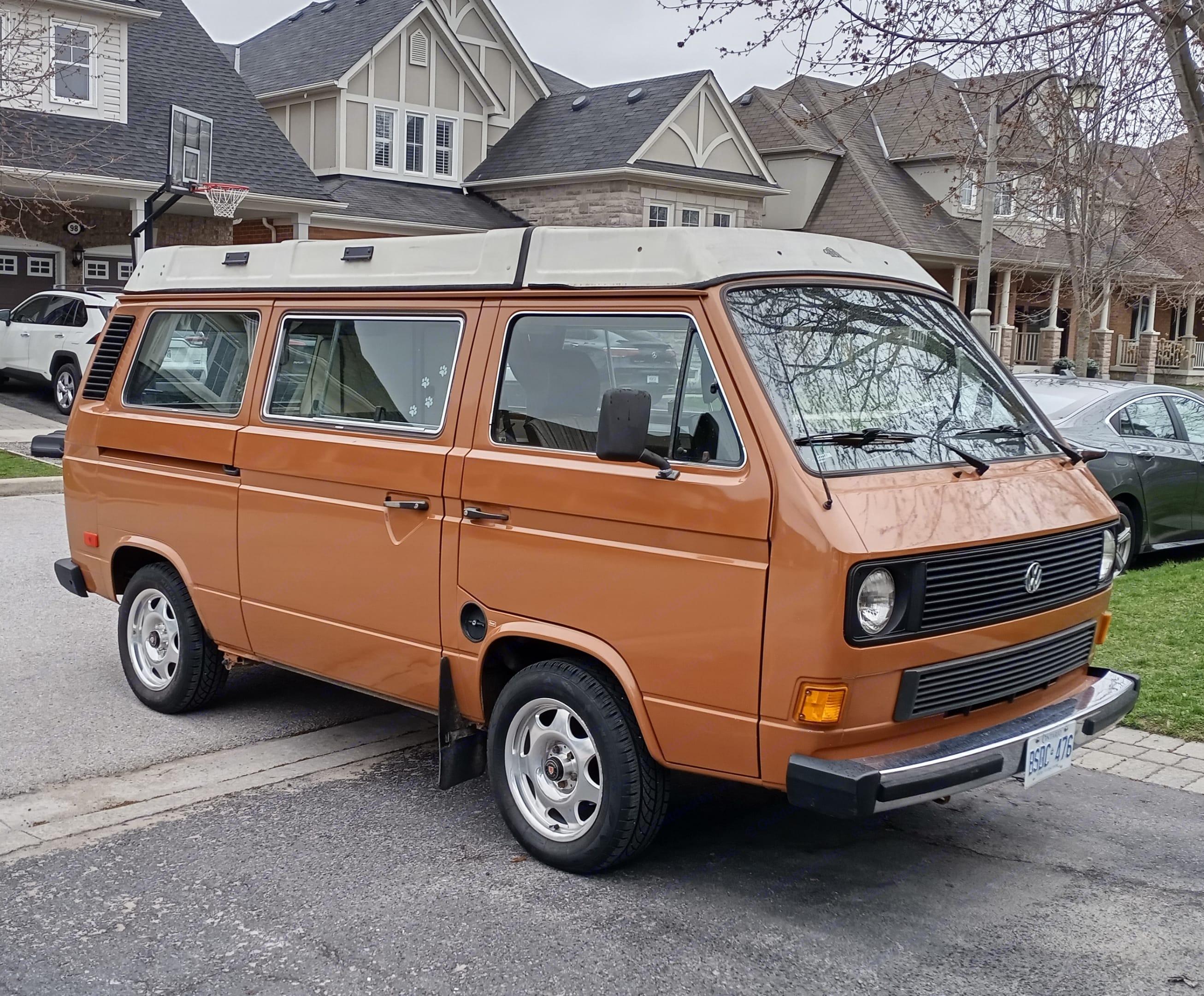 Volkswagen Westfalia 1982
