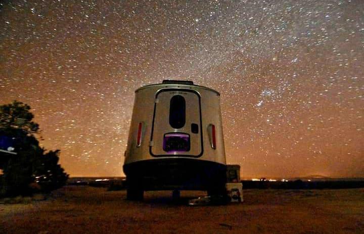 Dark Skies!. Airstream Base Camp X 2021