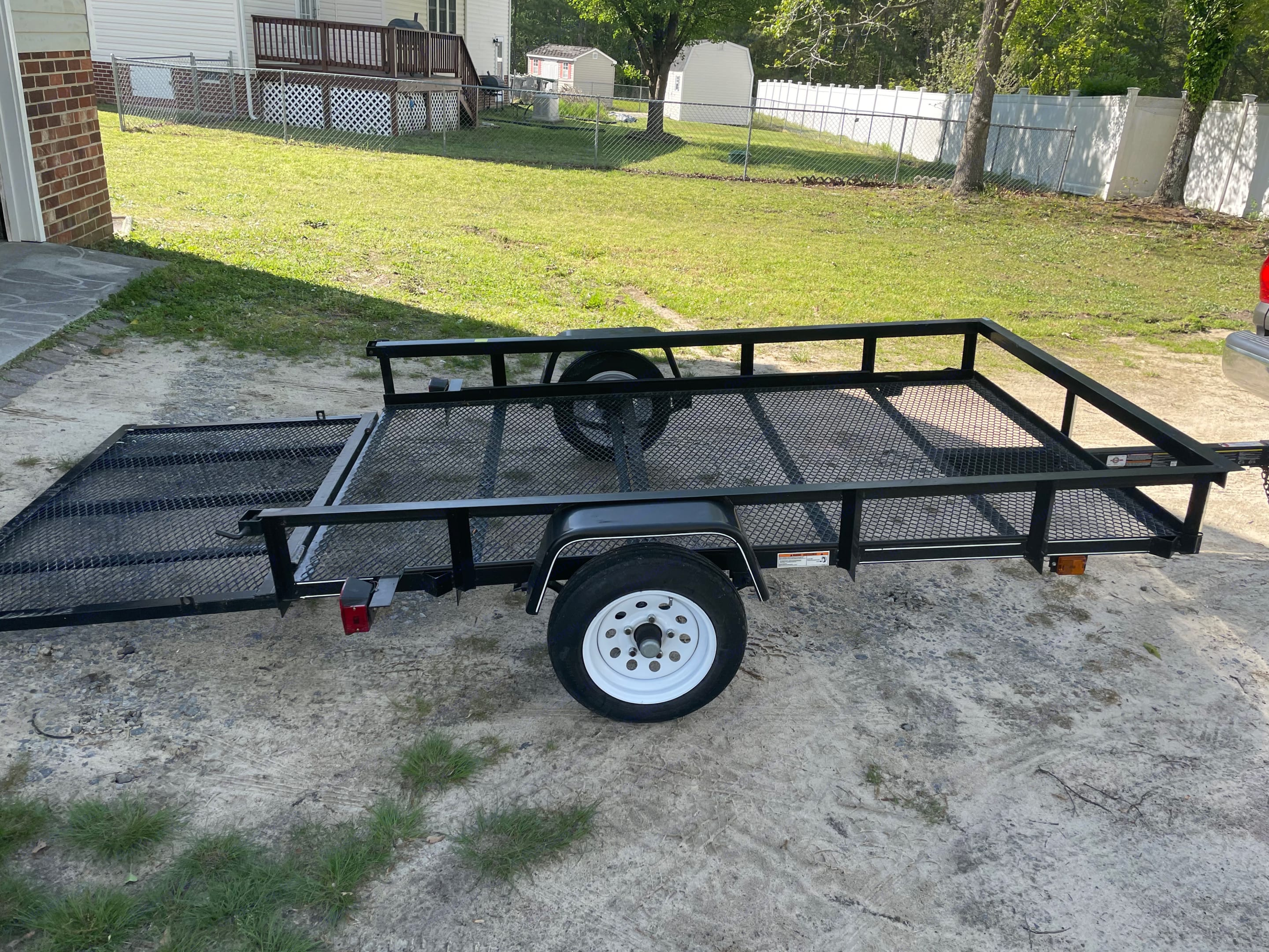 Carry-On Trailer 5X8G 2018