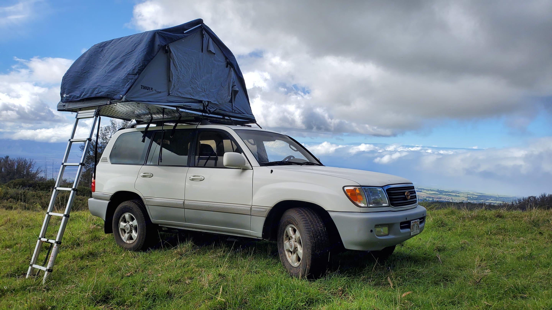 Toyota Land cruiser Overland Camper 1998