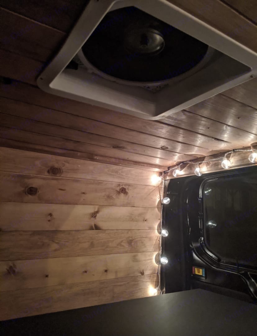 ceiling fan and mood. Ford Transit 2015