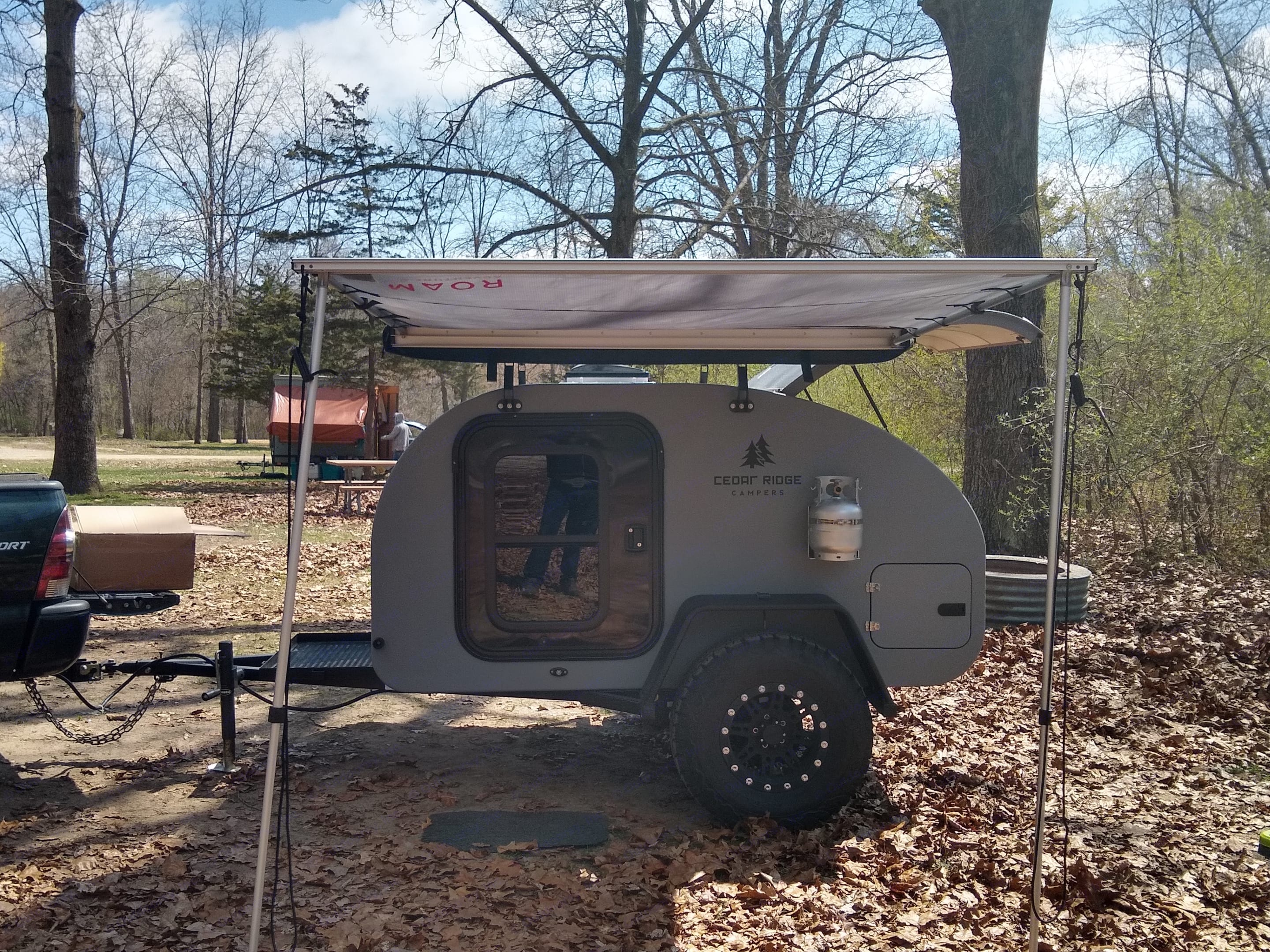 Duel sided pull out canopy to keep yourself dry and cool on your trip. Other Other 2021