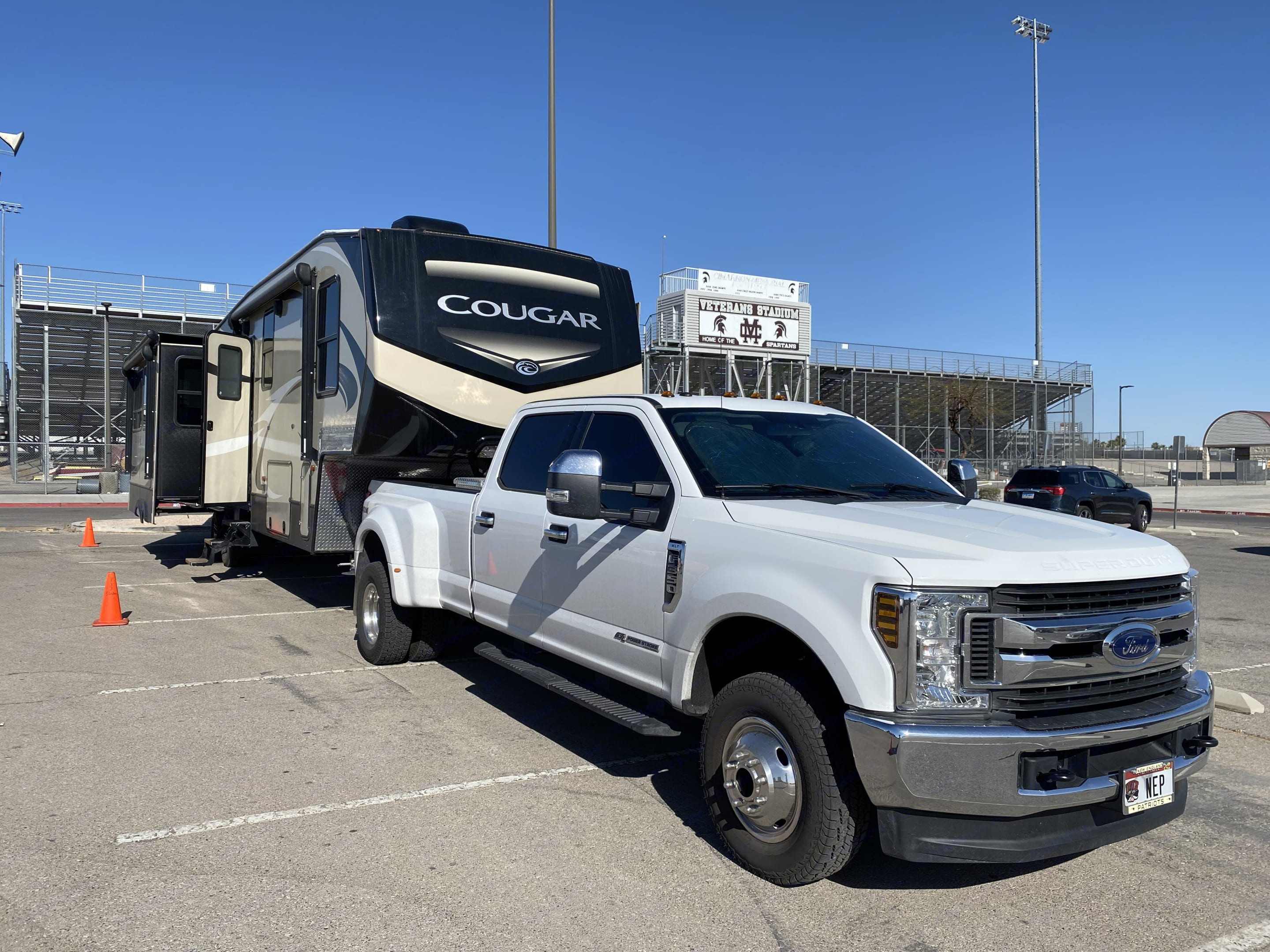 You need a big tow vehicle! Truck not included!. Keystone Cougar 2018