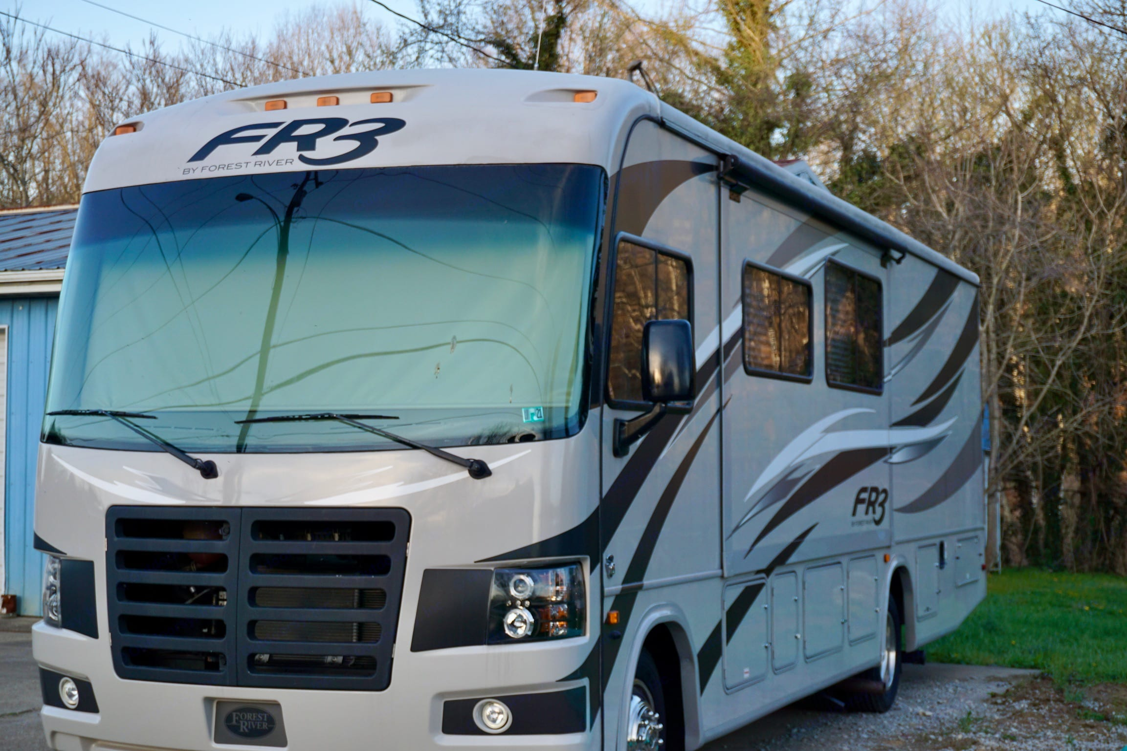 Looks brand new!. Forest River Fr3 2015