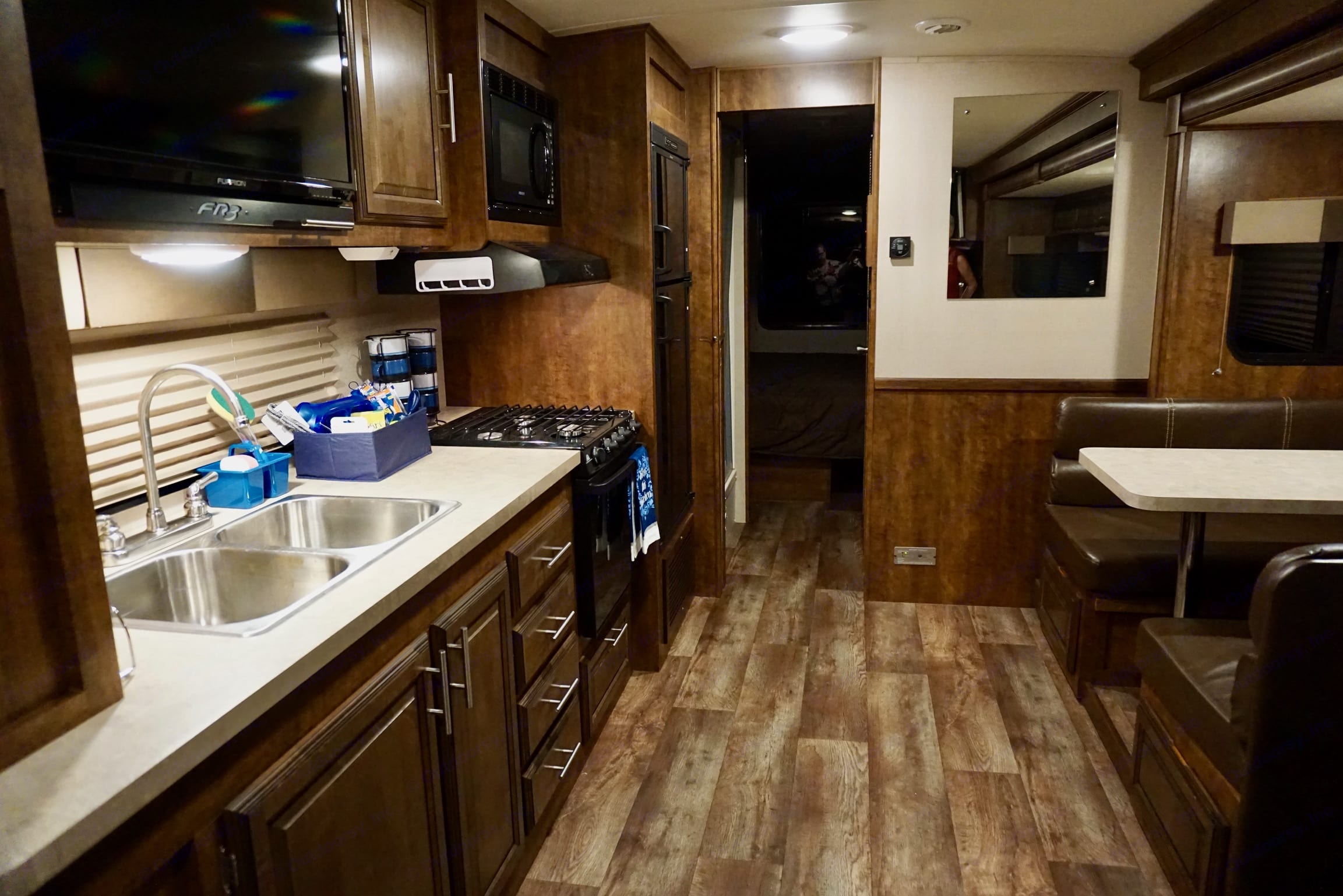 Good Counter space. Forest River Fr3 2015