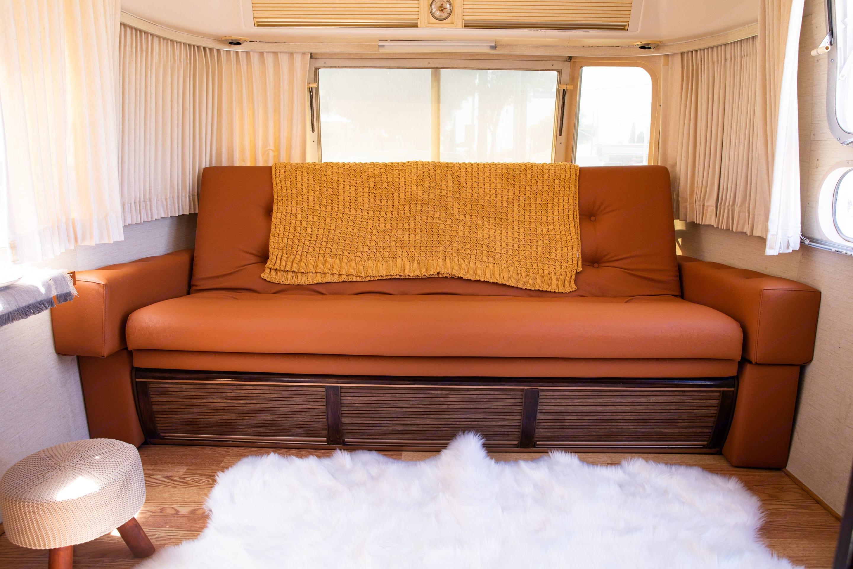 Bed # 1. Airstream International 1976