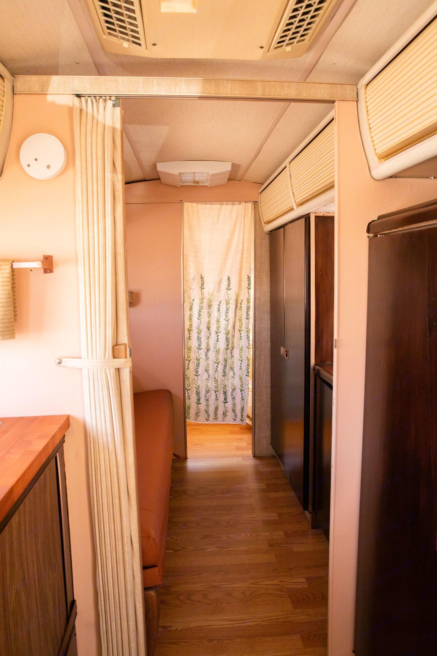 Hallway.. Airstream International 1976