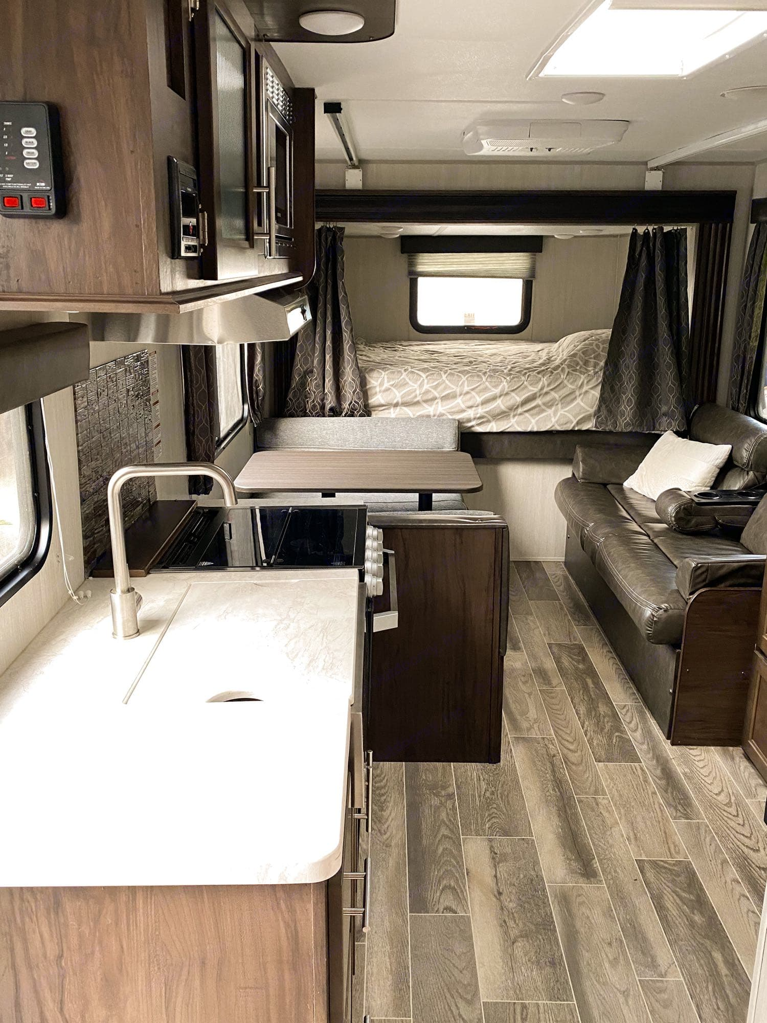 Lots of space to relax and large picture windows on both sides of the trailer. This trailer has tons of natural light!. Forest River Other 2019