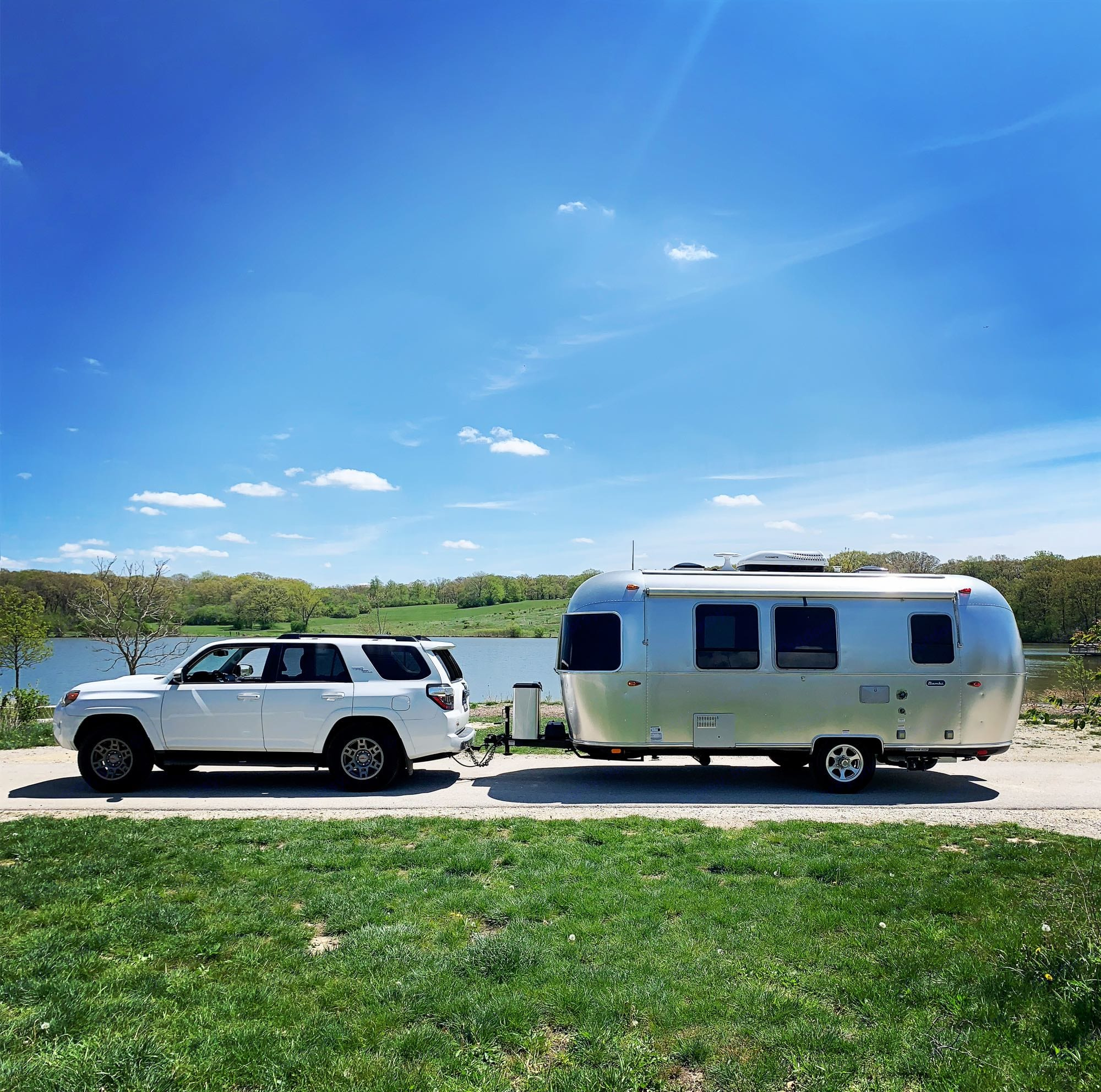 You can have the rig delivered!!. Airstream Bambi 2020